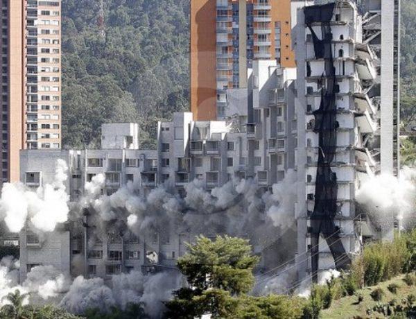ATENCIÓN : ¿ RIESGO DE UN EDIFICIO «SPACE» EN BUCARAMANGA ?