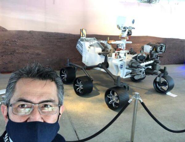 INGENIERO SANTANDEREANO PARTICIPÓ EN MISIÓN DE LA NASA A MARTE
